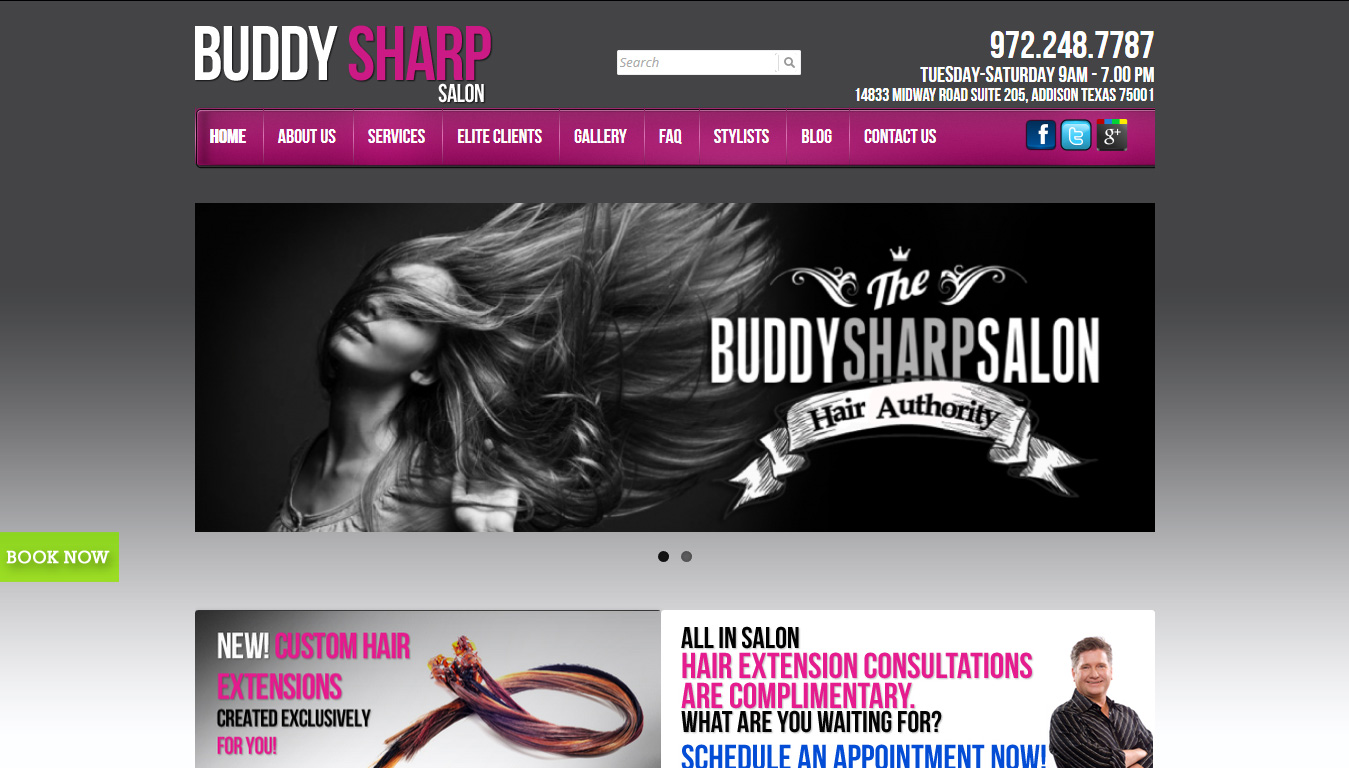 Buddy Sharp Salon